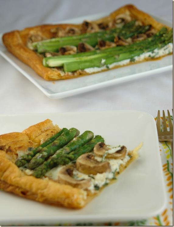 asparagus tart slice 2
