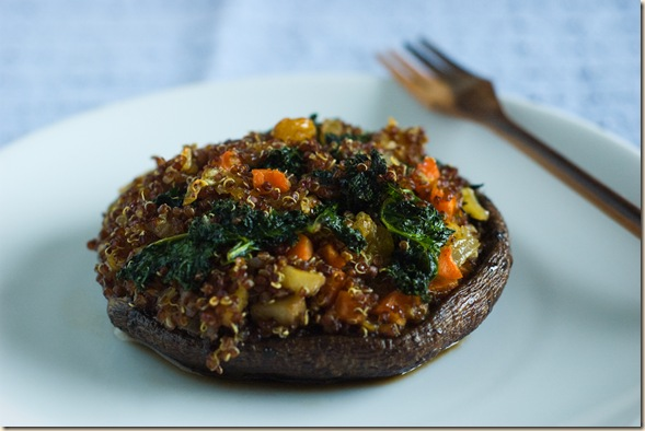 stuffed portobello 1