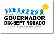 LOGO MARCA PREFEITURA DE GOV. DIX-SEPT ROSADO - RN- CDR - para Usar