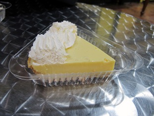 Blonde Giraffe Key Lime Pie
