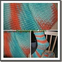 Grüne Socken