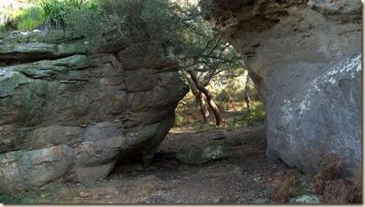 Puerta de entrada a Bacinete