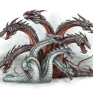 Fairytale creatures - Hydras