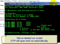 QTP video tutorial - How to run QTP test from command line