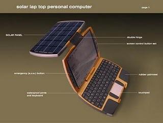 Notebook tenaga matahari
