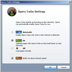 opera browser with turbo