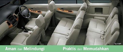Mobil keluarga ideal terbaik indonesia - Interior kijang innova
