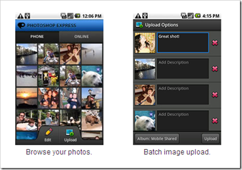 Photoshop Express Versi Mobile