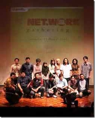 Foto bersama - 20 finalis beat blog writing contes