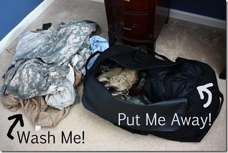 Caleb's laundry