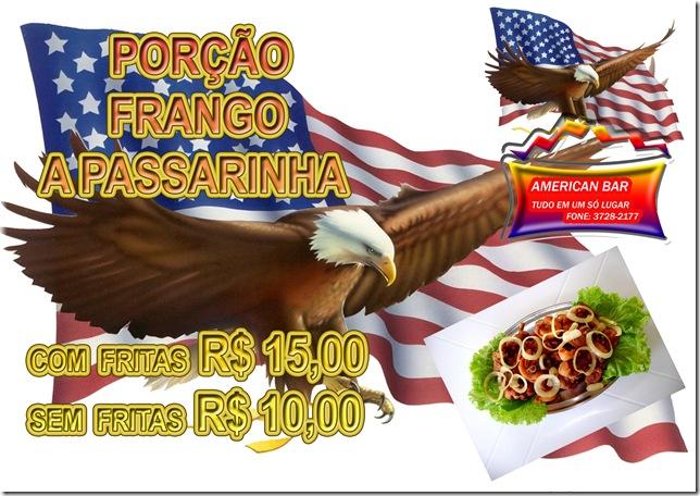 FRANGO A PASSARINHA
