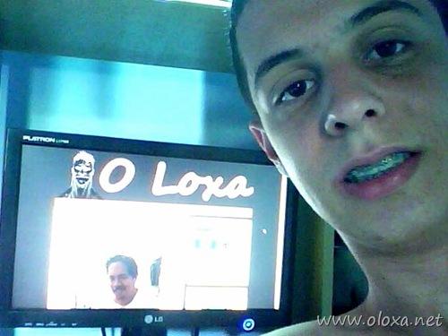 Leandro acessa O Loxa