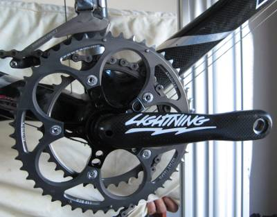 Lightning crankset