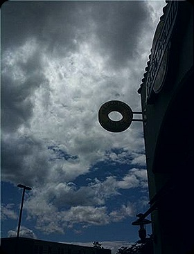 donut in the sky