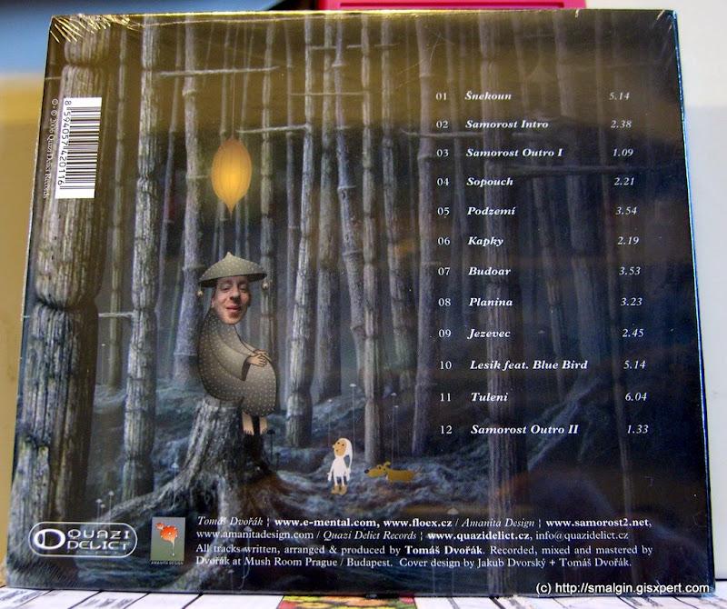 Samorost CD - back