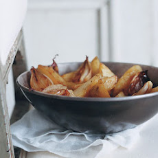 Roasted Potatoes and Shallots