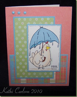 Springtime Rain Chick_Feb 2010