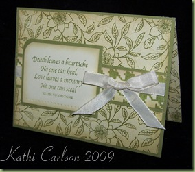 Sympathy Sentiments_Nov 2009