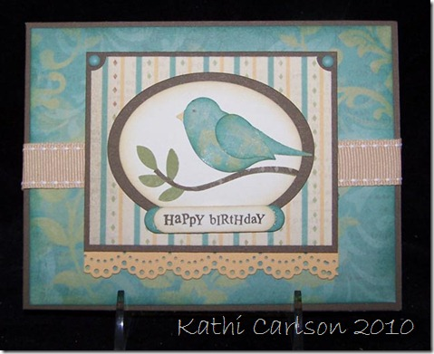 Stampin' Up Bird Punch_Sept 2010