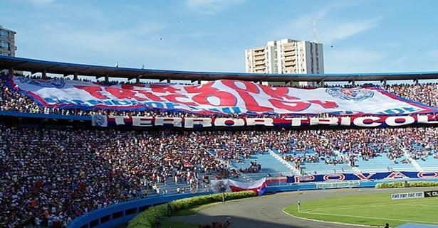 bandeirão tricolor