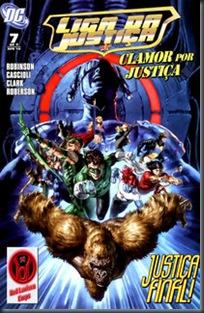 Liga da Justiça - Clamor por Justiça #07 (2010)