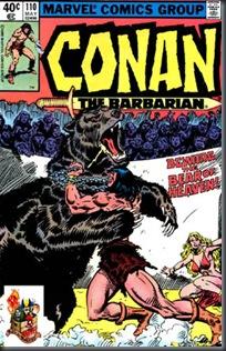 Conan, O Bárbaro #110 (1980)