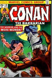 Conan, O Bárbaro #38 (1974)