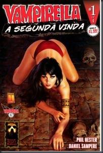 Vampirella - Segunda Vinda #1 (2009)