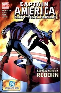 Capitão América - Renascido - Quem Brandirá o Escudo (2010)