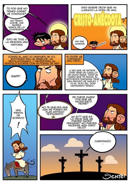 Cristo-anécdota