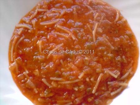 Fideos con Tomate 8