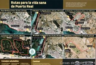 Rutas para la vida sana de Puerto Real