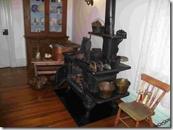 Stove in Brigham Young kitchen