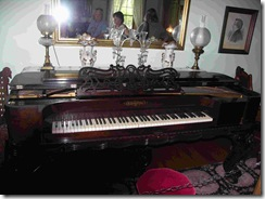 Piano in Brigham Young home