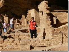 me in the cliff dwellings