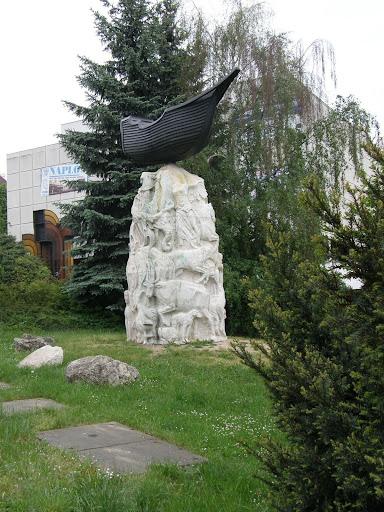 Veszprém, örmény emlékmű, Ararát, Noé bárkája