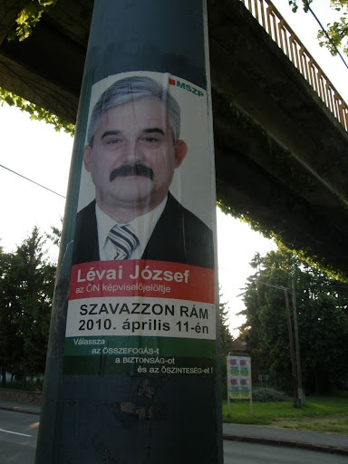 Lévai József (mszp) plakát