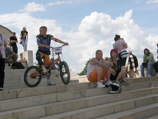 Budapest,  Citadella,  extreme sport, Szabadság-szobor, VI. Gellért-hegy downhill verseny, 2010, képek,  photos,  pictures