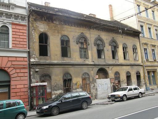 Budapest,  blog, Baross utca, VIII. kerület, romok, műemlék