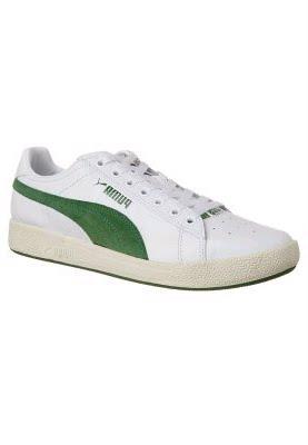 Zapatillas Puma Blancas De Cuero