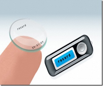 Kontak Lens Video Kamerasi