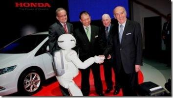 ASIMO Honda Insight Hybrid