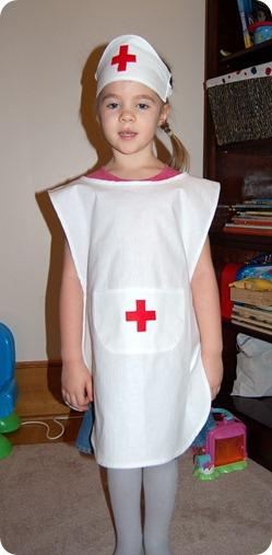 Костюм медсестры для девочки своими руками в детский сад