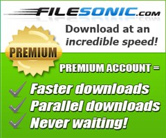 Upgrade to a FileSonic Premium account and download at incredible speed!