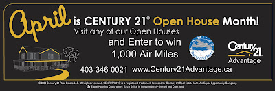 Century 21 Advantage Open Houses for the Weekend of April 17 & 18, 2010