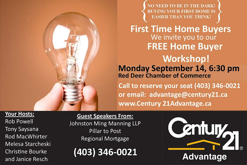 Less Than One Week Until The Home Buyers Seminar