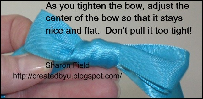 Step9 Make A Bow