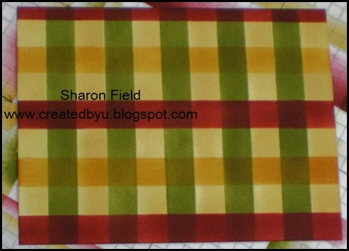 Tutorial Post It Note Plaid