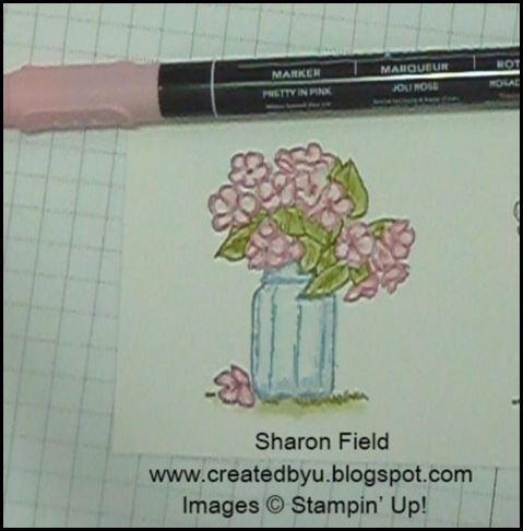 watercolor-with-markers, sharon-field, created-by-you, on-the-grow, stampin-up, summer-mini-catalog