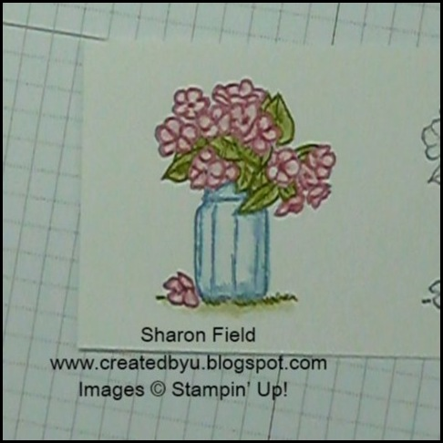 water coloring with markers tutorial, on the grow, summer mini catalog